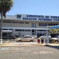Photo taken at Aeroporto de Teresina / Senador Petrônio Portella (THE) by Antonia C. on 9/9/2012