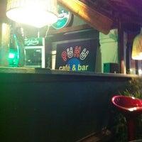 Photo taken at Puku Café & Sports Bar by 🐱Ha D. on 4/9/2012