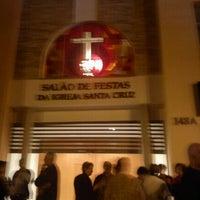 Photo taken at Salão Festas da Igreja Santa Cruz by Aline P. on 5/26/2012