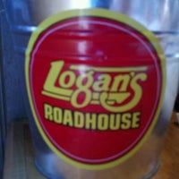 Photo taken at Logan's Roadhouse by PinkMohawk C. on 5/21/2012