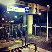Photo taken at Metrostation Postjesweg by Nils V. on 7/10/2012