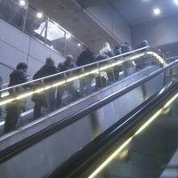 Photo taken at Kongens Nytorv St. (Metro) by Janus S. on 4/13/2012