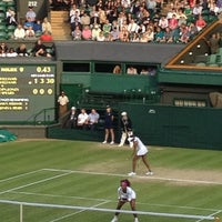 Photo taken at Centre Court by Alan P. on 7/5/2012