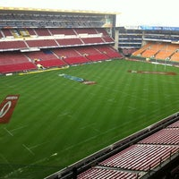 Photo taken at Newlands Rugby Stadium by Rene P. on 3/30/2012