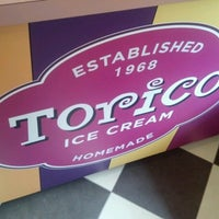 Photo taken at Torico's Homemade Ice Cream Parlor by Tony F. on 6/14/2012