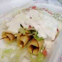 Photo taken at Taco Fiesta by Pleasure Palate on 4/27/2012