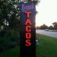 Photo taken at Rocco's Tacos and Tequila Bar by Terrance M. on 5/12/2012