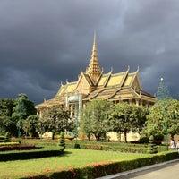 Photo taken at Royal Palace, Phnom Penh by Manu on 8/12/2012