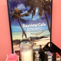 Photo taken at Bayview Cafe by Joan M. on 6/1/2012