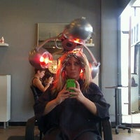 Photo taken at Hair Drezzers on Fire by Ashley P. on 7/14/2012