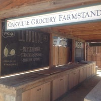 Photo taken at Oakville Grocery Co. by Sara F. on 6/12/2012