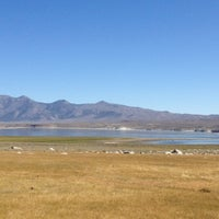 Photo taken at Crowley Lake by Elizabeth R. on 9/2/2012