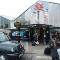 Photo taken at Northampton Railway Station (NMP) by Jenus J. on 2/29/2012