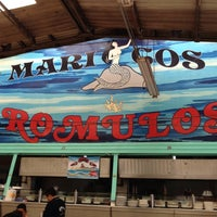 Photo taken at Mariscos Romulos by El Ñero on 4/29/2012