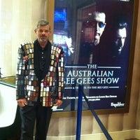 Photo taken at Australian Bee Gees Show by Glenda C. on 6/10/2012