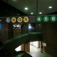 Photo taken at MTA Subway - 14th St/Union Square (L/N/Q/R/4/5/6) by 0zzzy on 3/27/2012