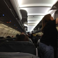 Photo taken at Spirit Airlines Flight 336 by Frank T. on 7/11/2012