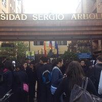 Photo taken at Universidad Sergio Arboleda by Puntos Colombianos ☕. on 7/25/2012