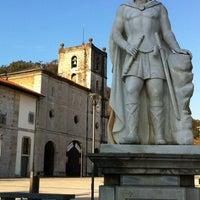 Photo taken at Colegiata de Pravia by Hugo V. on 2/27/2012