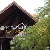 Photo taken at East Coast Lagoon Food Village by Jason T. on 8/7/2012