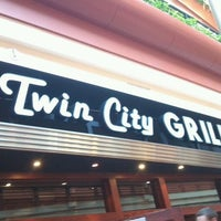 Photo taken at Twin City Grill by Rosemary M. on 2/19/2012