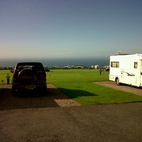 Photo taken at Damage Barton Camping and Caravanning Club Site by Joe E. on 6/28/2012