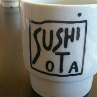 Photo taken at Sushi Ota by Anthony K. on 2/9/2012