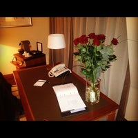 Photo taken at Park Hyatt Hamburg by Roman N. on 4/5/2012