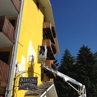 Photo taken at Albergo Alpenrose by Albergo Alpenrose di Franco Bieler on 7/18/2012