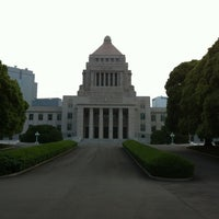 Photo taken at National Diet Library by Rainbowchild on 6/8/2012