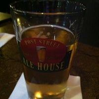Photo taken at Post Street Ale House by Veronica B. on 3/13/2012