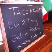 Photo taken at Pinche Taqueria by Juston P. on 5/22/2012