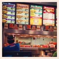 Photo taken at Popeye's Chicken & Biscuits by Aaron B. on 3/19/2012