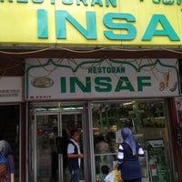 Photo taken at Restoran Insaf by Muhd Khairi M. on 8/12/2012
