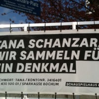Photo taken at Tana-Schanzara-Platz by Frauke on 4/12/2012