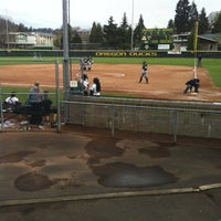Photo taken at Howe Field by Luc H. on 4/19/2012