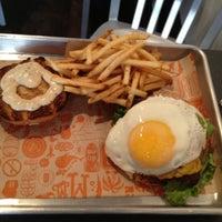 Photo taken at Super Duper Burger by Gabe T. on 5/10/2012