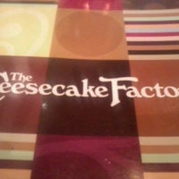 Photo taken at The Cheesecake Factory by Sparticus on 7/21/2012