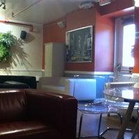 Photo taken at HI New York Hostel by AkHaNe on 4/17/2012