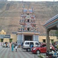 Photo taken at Narasinga Perumal Temple by Ganesh B. on 3/10/2012