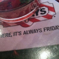 Photo taken at TGI Fridays by Tevin R. on 8/12/2012