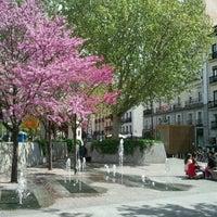 Photo taken at Plaza de Tirso de Molina by José R. F. on 4/13/2012