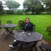 Photo taken at The Priory Restaurant & Hotel Caerleon by Hazem O. on 7/2/2012