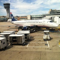 Photo taken at Gate B10 by Alli on 9/11/2012