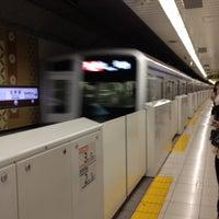 Photo taken at Kita-sando Station (F14) by Shinji K. on 8/10/2012