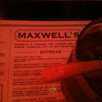 Photo taken at Maxwell's Bar & Restaurant by Courtney M. on 2/16/2012
