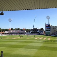Photo taken at Trent Bridge Cricket Ground by Daniel W. on 9/6/2012