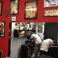 Photo taken at Tattoo Arts by Carolinne R. on 4/5/2012