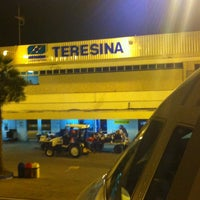 Photo taken at Aeroporto de Teresina / Senador Petrônio Portella (THE) by Cleiton on 7/21/2012