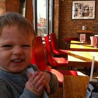 Photo taken at Bagel on Damen by Chris R. on 2/11/2012